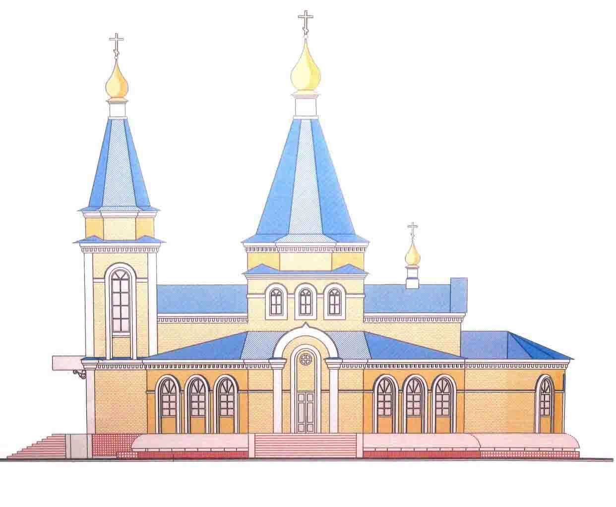 Экскиз храма